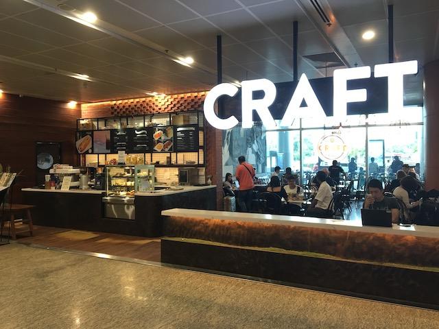 ヤンゴン空港内のカフェ