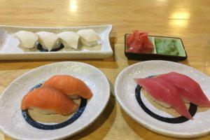 ニャウンシュエの寿司バーNOZOMIのメニュー