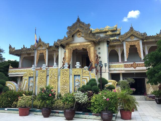 仏教伝来の歴史を学べる建物