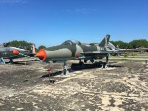 ネピドー軍事博物館屋外の展示品