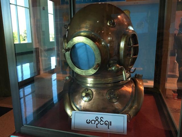 ネピドー軍事博物館の海軍館
