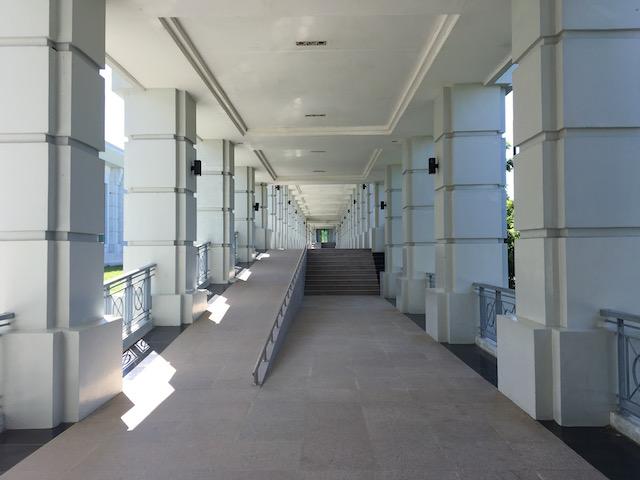 軍事博物館の廊下