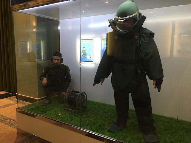 ネピドー軍事博物館の陸軍館