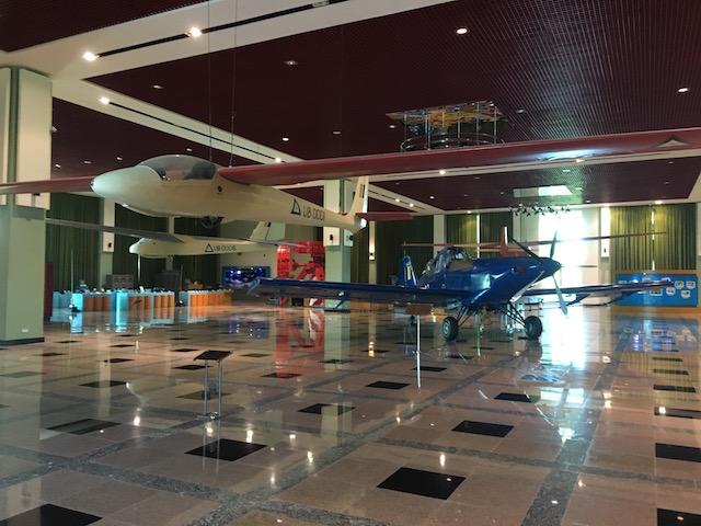 ネピドー軍事博物館の空軍館
