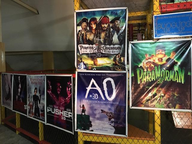 ナショナルランドマークガーデン内の3D映画館