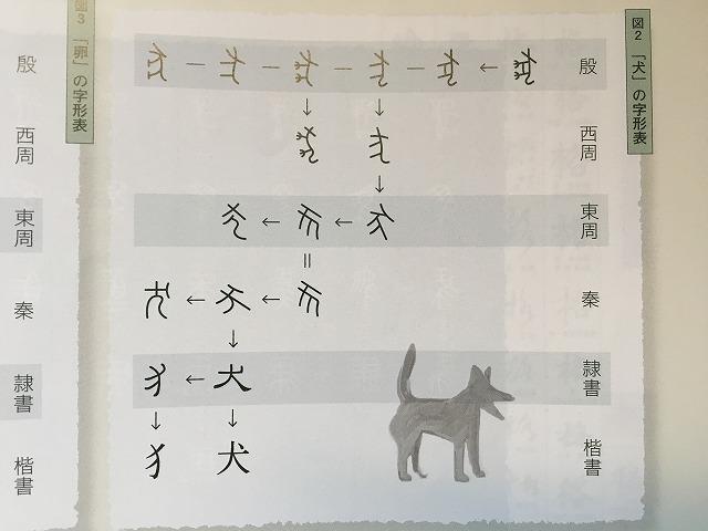 犬の字形表